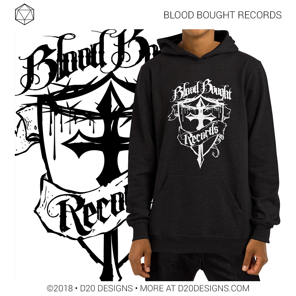 Brand Identity Blood Bought Records
