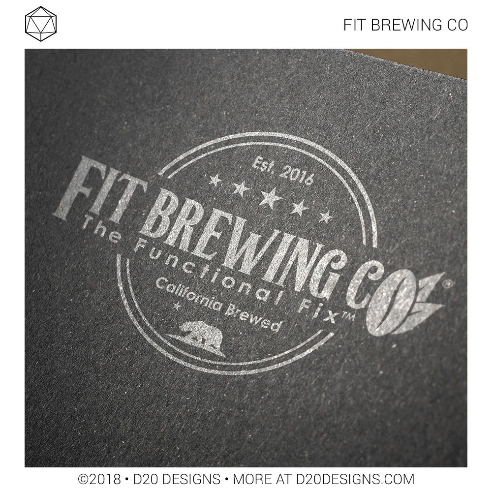 Brand Identity Fit Brewing Co